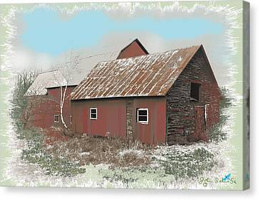 Coventry Barn Canvas Print