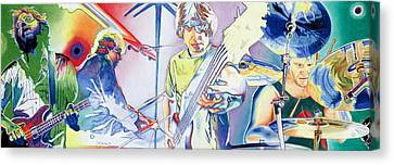 Famous Musician Canvas Print - Coventry Phish by Joshua Morton