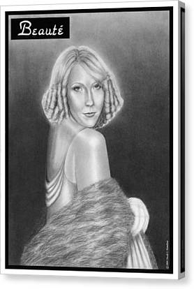 Cover Girl Canvas Print by Nicole I Hamilton