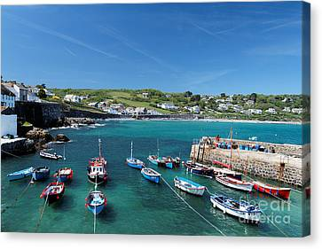 Coverack Canvas Print by Carl Whitfield
