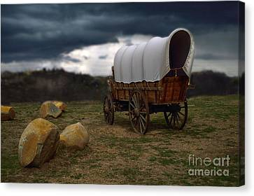 Covered Wagon 2 Canvas Print