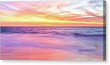 Cow - Mms2.2 Beach Towel Canvas Print