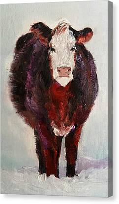 Cow Painting  Canvas Print by Michele Carter