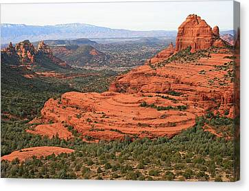 Cow Pie Mesa Canvas Print