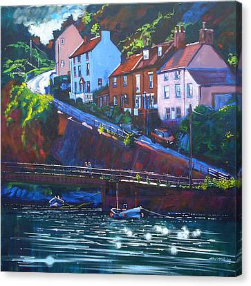 Cowbar - Staithes Canvas Print by Neil McBride