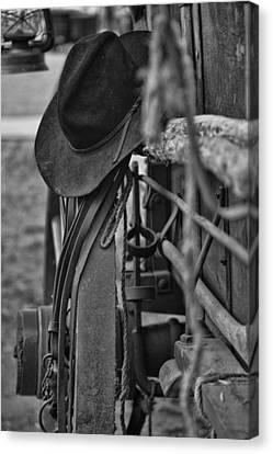 Cowboy Hat  Canvas Print by Toni Hopper