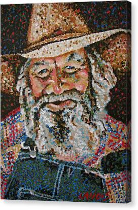 Cowboy II Canvas Print by Denise Landis