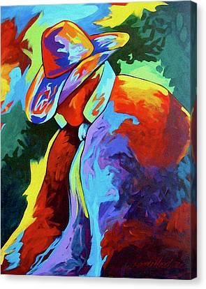 Cowboy Who Canvas Print by Lance Headlee