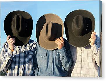 Cowboys Anonymous Canvas Print by Todd Klassy