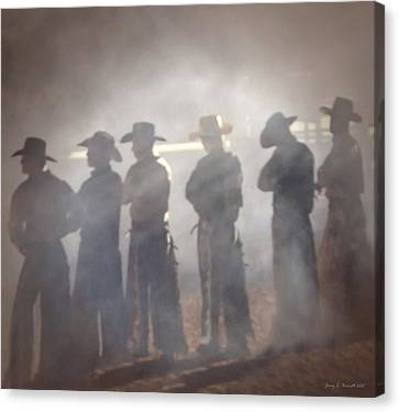 Cowboys Canvas Print by Jerry L Barrett
