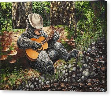 Cowichan Summer Canvas Print
