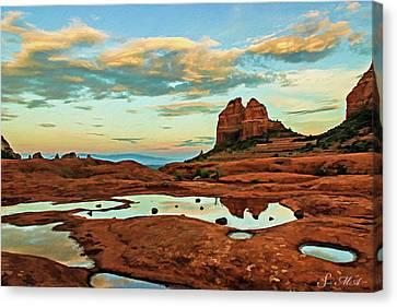 Cowpie 07-059 Canvas Print by Scott McAllister
