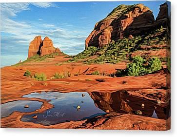 Cowpie 07-101 Canvas Print by Scott McAllister