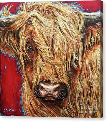 Coy Roy Canvas Print