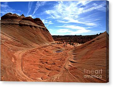 Coyote Buttes Crater Canvas Print