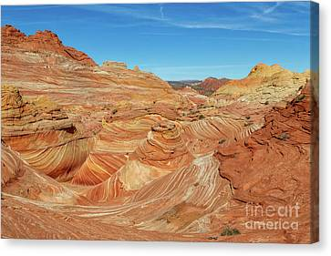 Coyote Buttes North Canvas Print by Jerry Fornarotto