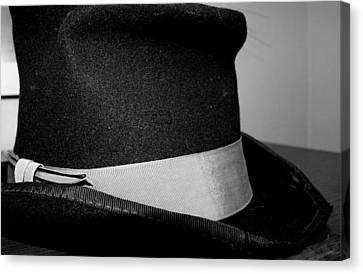 Coy's Hat Canvas Print by Gina  Zhidov