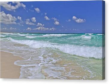 Cozumel Paradise Canvas Print by Chad Dutson