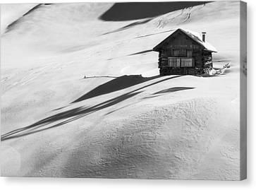 Cozy In Winter Canvas Print