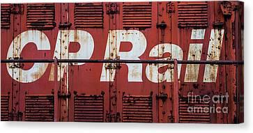 Cp Rail Canvas Print
