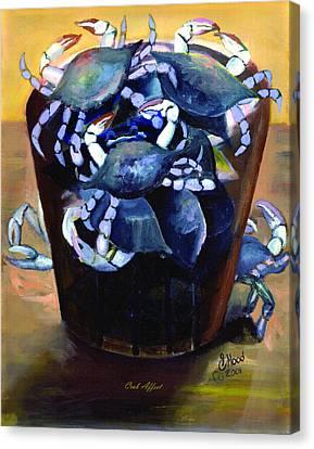 Crab Affect Canvas Print