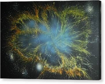 Crab Nebula Canvas Print by DC Decker