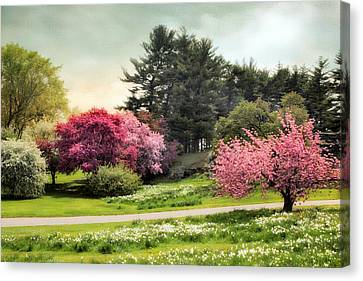 Crabapple Meadow Canvas Print by Jessica Jenney