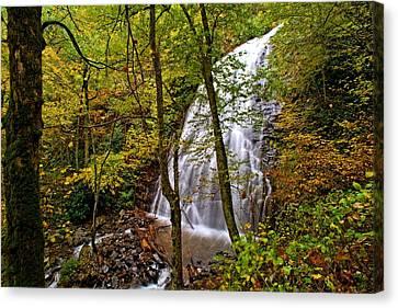 Crabtree Falls - North Carolina Waterfall Photos  Canvas Print