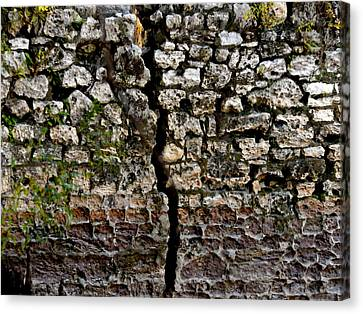 Crack In The Wall Canvas Print