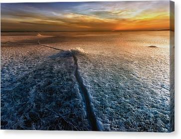 Crack In The World Canvas Print by Piotr Krol (bax)