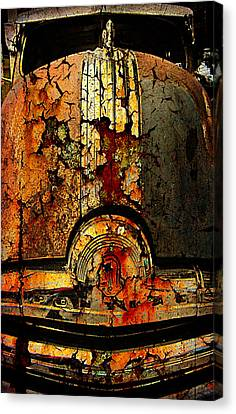 Cracked Pontiac Canvas Print