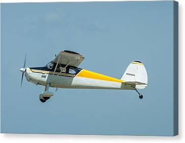 Canvas Print featuring the photograph Cracker Fly-in by Michael Sussman