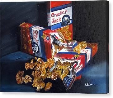 Cracker Jacks Canvas Print