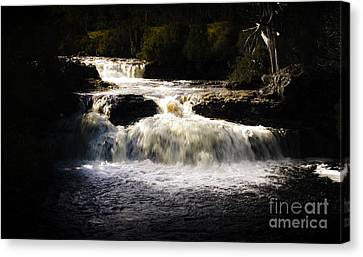Cradle Mountain Waterfall In Picturesque Tasmania Canvas Print by Jorgo Photography - Wall Art Gallery