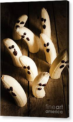Crafty Ghost Bananas Canvas Print by Jorgo Photography - Wall Art Gallery