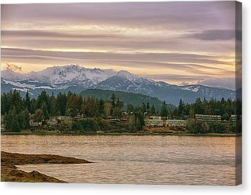 Canvas Print featuring the photograph Craig Bay by Randy Hall
