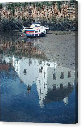 Crail Reflection I Canvas Print