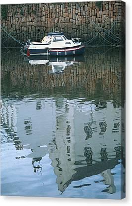 Crail Reflections II Canvas Print