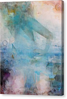 Crane's Beest Canvas Print by Sandra Cohen