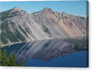Crater Lake 2 Canvas Print by Frank Wilson
