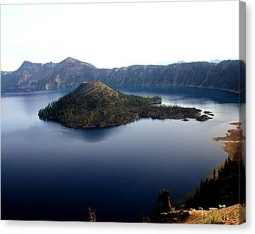 Crater Lake 2 Canvas Print by Marty Koch