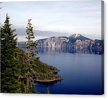 Crater Lake 3 Canvas Print by Marty Koch