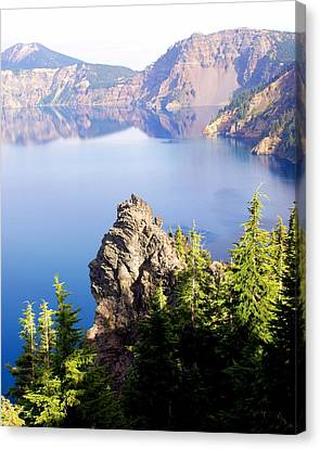 Crater Lake 4 Canvas Print by Marty Koch