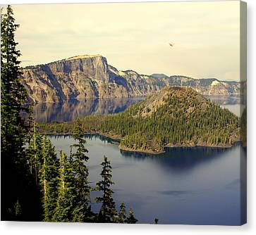 Crater Lake 6 Canvas Print by Marty Koch