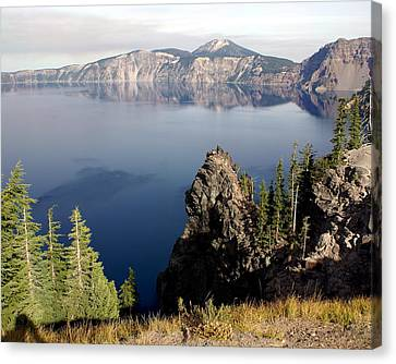 Crater Lake 7 Canvas Print by Marty Koch