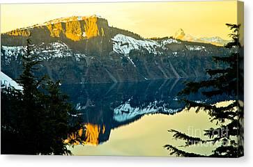Crater Lake 7 Canvas Print by Nick  Boren