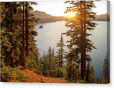 Crater Lake Canvas Print by Brian Harig