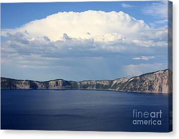 Crater Lake Canvas Print by Carol Groenen
