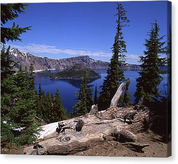 Crater Lake Canvas Print by Jim Nelson