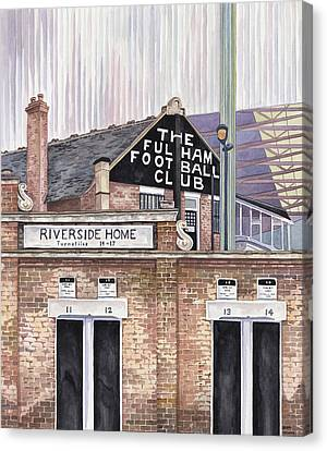 Craven Cottage Canvas Print by Scott Nelson